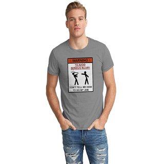Dreambolic Warning Half Sleeve T-Shirt