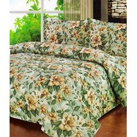 Furnix Premium Double Bed Sheet With Two Pillow Covers D.No. 12