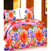 Furnix Premium Double Bed Sheet With Two Pillow Covers D.No. 53