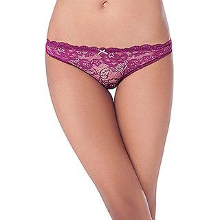 7b4d9c2b335 Buy Prettysecrets Purple Solid Bikini Online   ₹399 from ShopClues