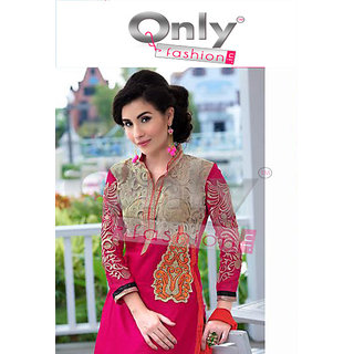 Diwali Special Dark Pink Heer by Only Fashion