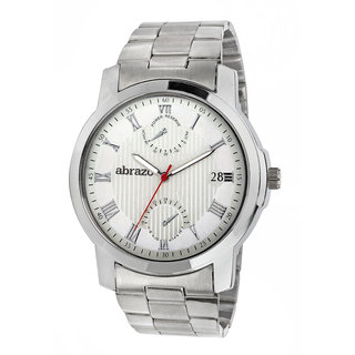 abrazo Analog Men's Watch 0051-WH