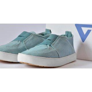 Buy Canvas shoes men Blue without less