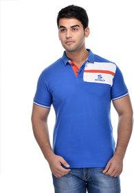 Surly Royal Blue White Polo T-Shirt