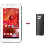ADCOM A680 DUAL SIM 3G  PLUS  Power Bank APB 2200 -Black
