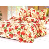 Furnix Premium Double Bed Sheet With Two Pillow Covers D.No. 21