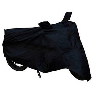 Ak Kart Black Two Wheeler Cover For Mahindra Kine