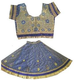 Fashion Women's Blue Lehenga