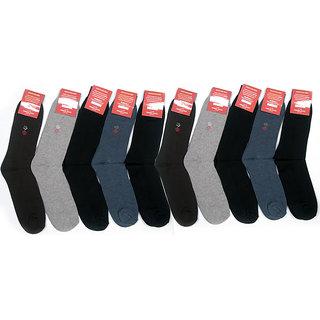 Pack Of 10 Premium Cotton Socks