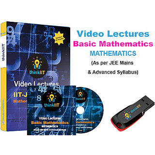 IIT JEE Video Lectures Basic Mathematics In DVD
