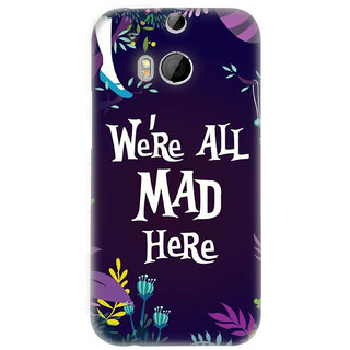 PickPattern Back Cover for HTC One (M8) (MATTE)