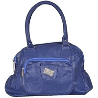 Ecadence Women's Shoulder Bag (Blue, ECA0145K)