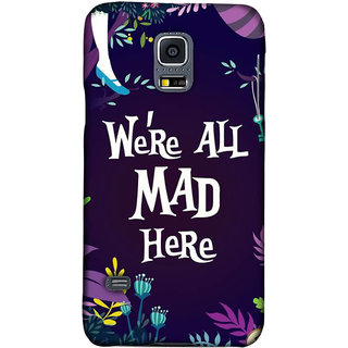 PickPattern back Cover for Samsung Galaxy S5 Mini G800h