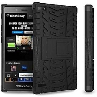 Jo Jo Back Cover for Blackberry Z3         (Black)