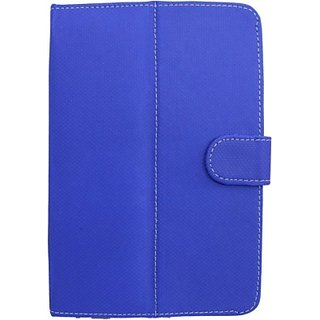 Jojo Flip Cover for Micromax Funbook 3G P600         (Blue)