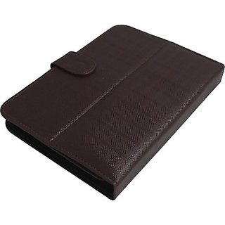 Jojo Flip Cover for HTC Flyer Wi-Fi         (Brown)