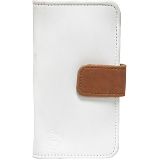 Jojo Flip Cover for Wickedleak Wammy One         (White, Orange)