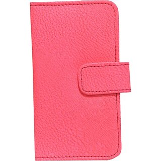Jojo Flip Cover for Alcatel One Touch Pop 2 (5) NFC         (Bright Pink)