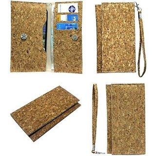 Jojo Pouch for Xolo Q1000         (Wood Plain)