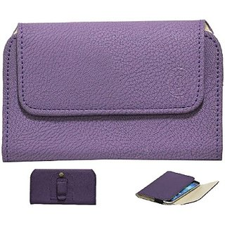 Jojo Pouch for Micromax Canvas Nitro 2 E311         (Purple)
