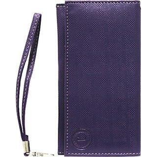 Jojo Wallet Case Cover for XOLO Q710s         (Purple)