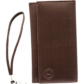 Jojo Wallet Case Cover for HP Slate6 Voicetab         (Brown)