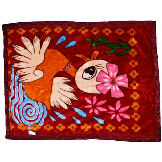 Chhote Janab Baby Mink Double Ply Blanket