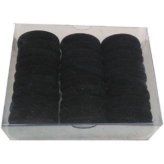 12 Pcs Black Rubber Bands