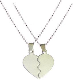 Men Style Couple BrokenHeart Love Stainless Steel Pendent For Men And Women