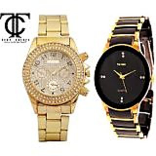 TRUE COLORS ANTIQUE COOL COMBO CREATIVE PERSONALITY Analog Watch - For Boys, Men