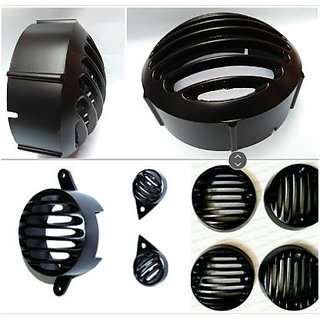Combo Headlight Indicator Parking Grill For Bulllet Classic