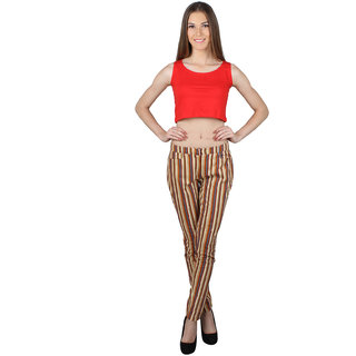 SayItLoud Sleeveless Red  Colour Solid Crop top