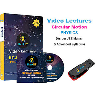 IIT JEE Video Lectures  Circular Motion  In DVD