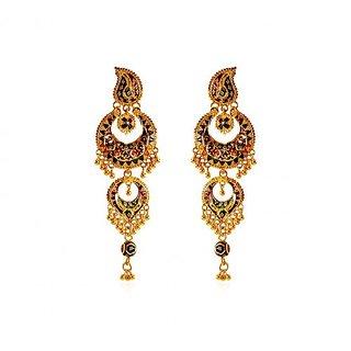 hanging loton earrings