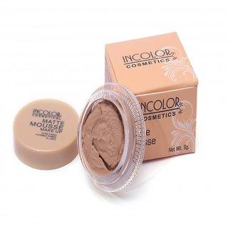INCOLOR Matte Mousse Makeup - 01 (Nutmeg)