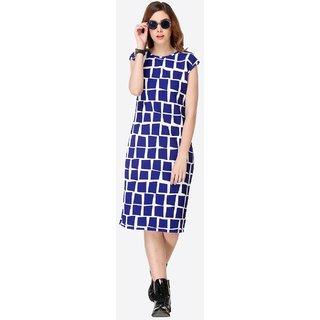 Beautiful Blue Color  Women's Dress