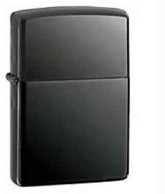22kart Black/Silver  Cigarette Lighter