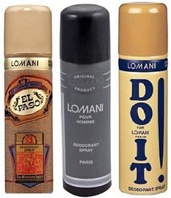 Lomani Combo Set (Set Of 3)