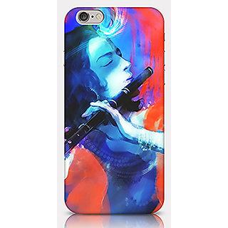 Crazyartshop Lord Krishna Case K02 Designer Back Case Cover for iPhone 6