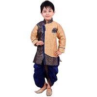 Arshia Fashions Boys Dhoti Kurta set ethnic wear for boys - Blue (1-5 yrs)