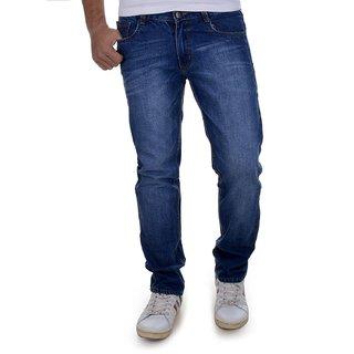 Blue Comfort Fit Jeans For Men