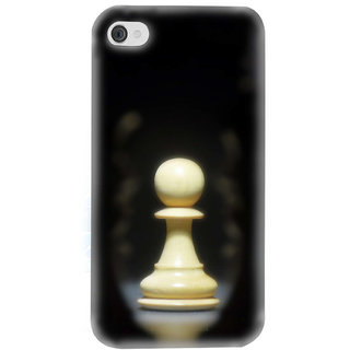 Pick Pattern Back Cover for Apple iPhone 4s PPN125CHESSPIECEI4M
