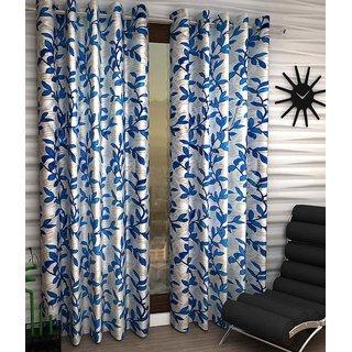 Home Sazz Set of 2 Eyelet Curtain