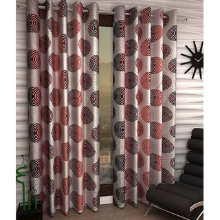 Amaroverseas Set of 2 Eyelet Curtain