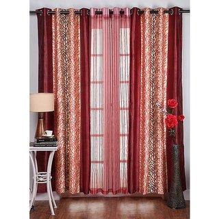 Amaroverseas Set of 2 Eyelet Curtain