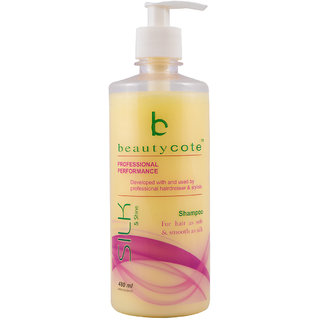 Beauty Cote Silk  Shine Shampoo, 480ml