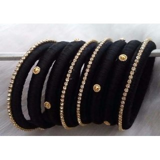 Indian Fashion Bangle Set Thread Wrapped Bracelets New Jewelry