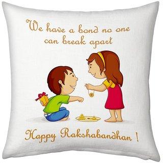 Fancy Happy Rakshabandhan Printed Designer Cushion 943