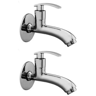 Snowbell Long Body Soft Brass Chrome Plated - Buy 1Get 1