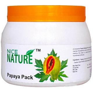 NICE NATURE PAPAYA FACE PACK 450G